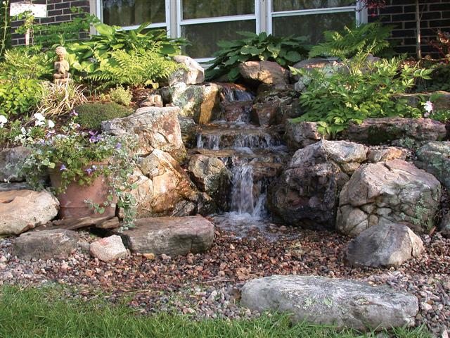 2009 Do it your self seminars | Landscapers Depot Blog on Small Backyard Pond With Waterfall  id=17337