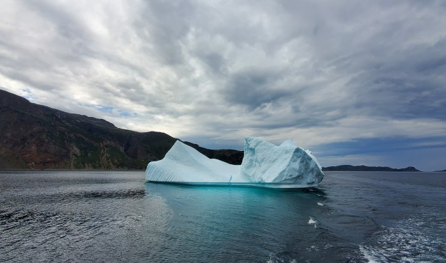 Iceberg in the Torngat Mountains.