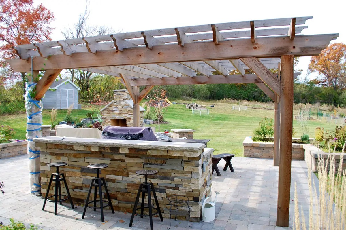 Outdoor Bars - Landscapes Unlimited on Best Backyard Bars id=78166