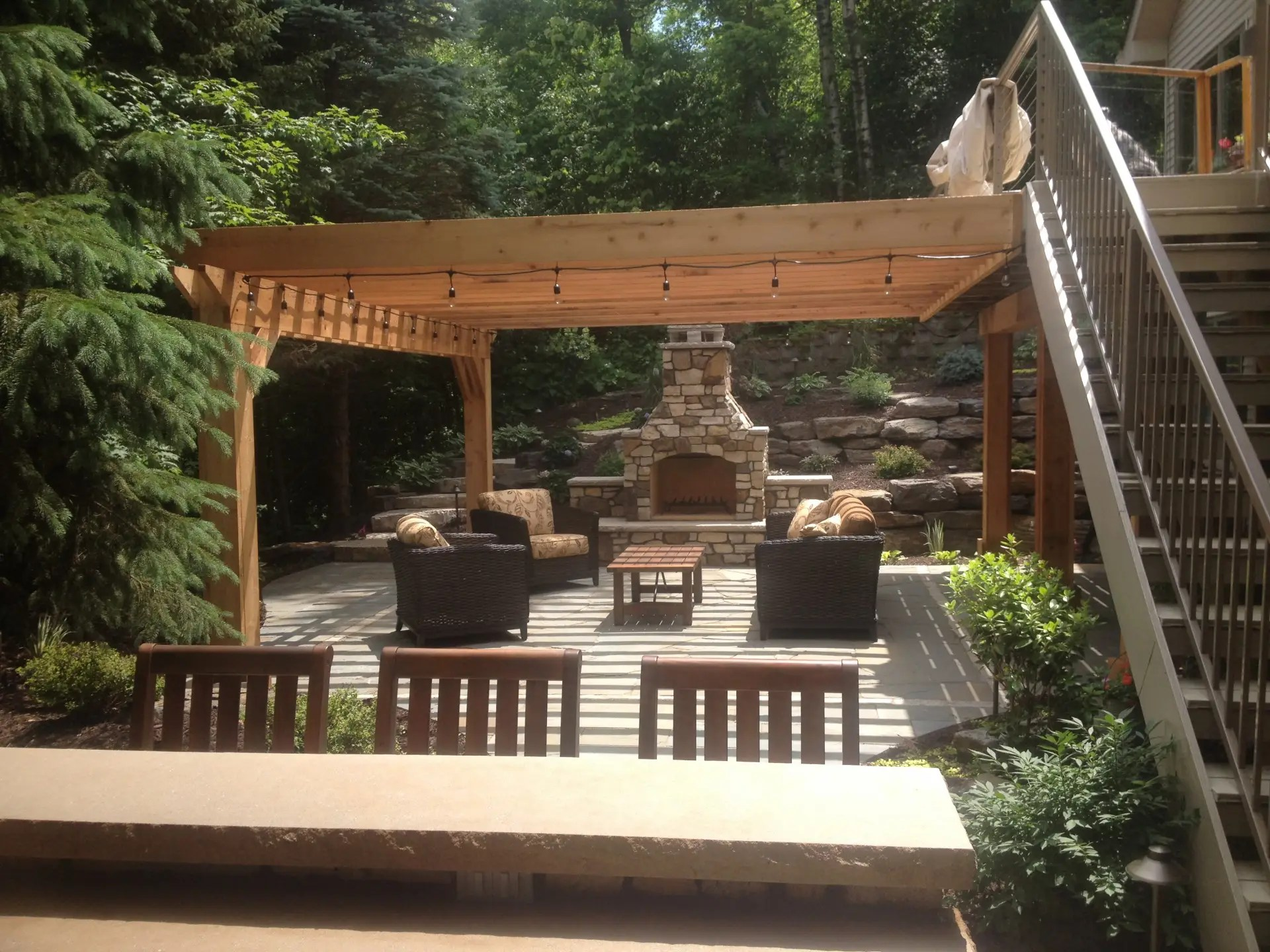 Backyard Escape Inver Grove Heights Mn Landscapes