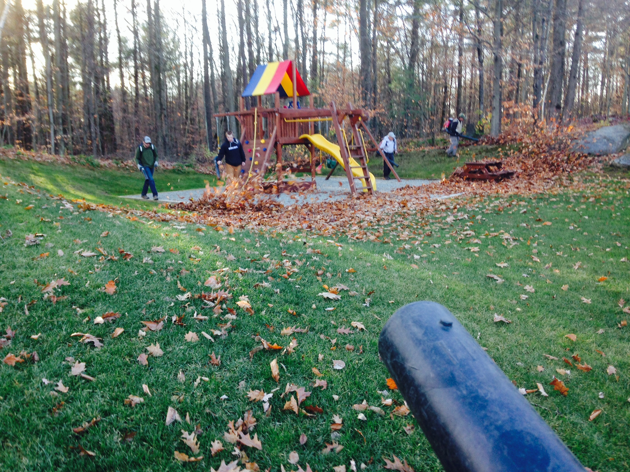 fall clean up s u0026 d landscapes vermont