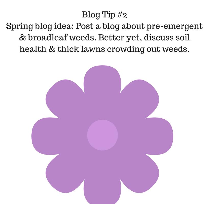 Blog Tip #2