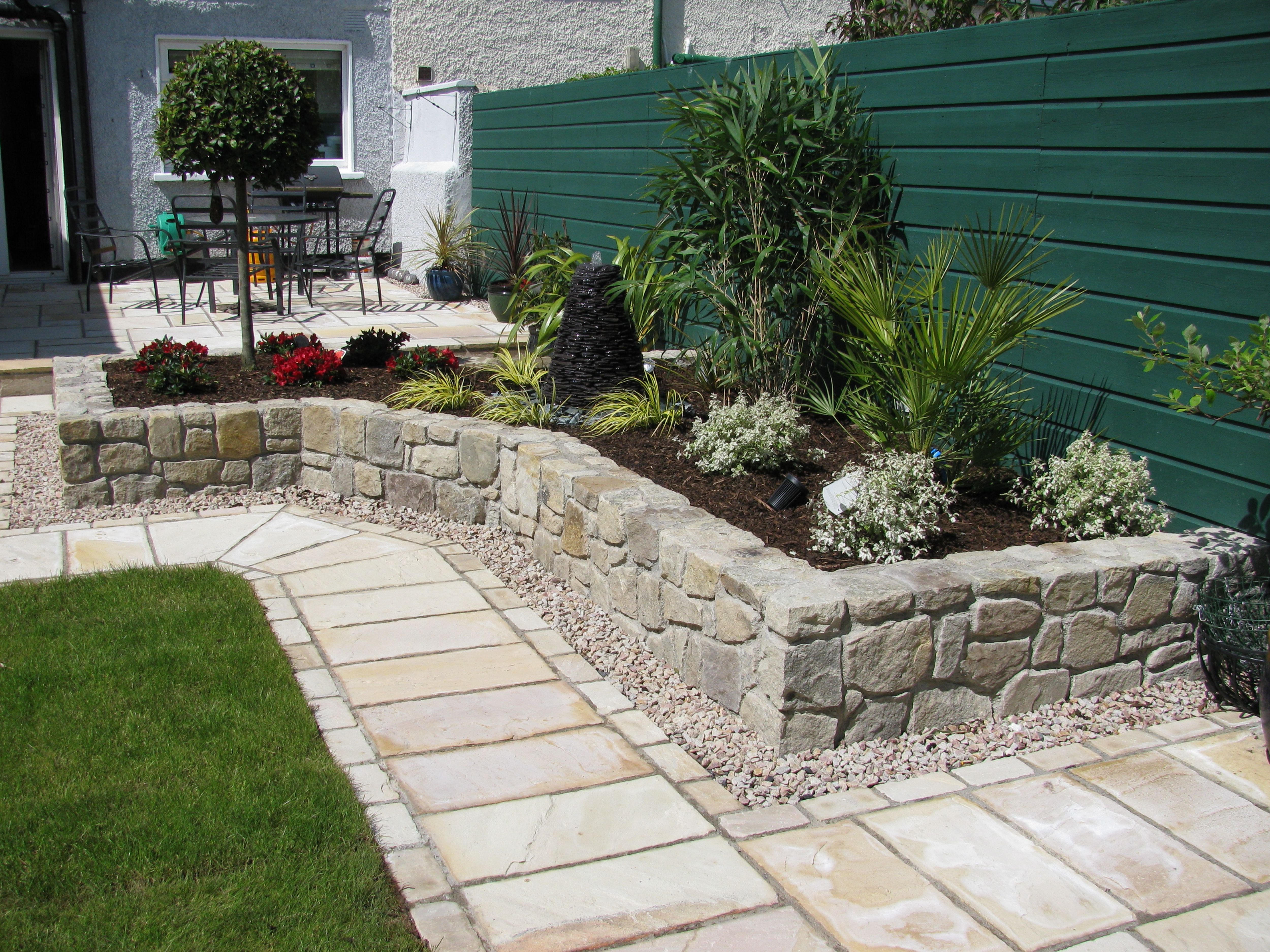 Landscaping in Windsor, Ontario | If it's outdoors, it's ... on Small Backyard Stone Patio Ideas id=16067