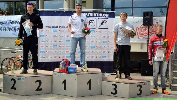 Siegerehrung - Powertriathlon Gera (Sprintwertung)