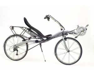 LEJOG - image of recumbent bike