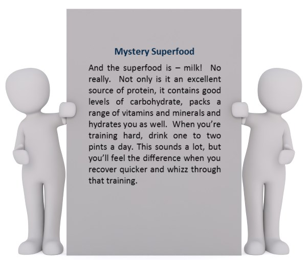 Lands End to John O'Groats Nutrition image for Mystery Superfood