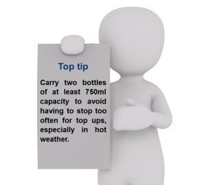 LEJOG What to take - Top Tip