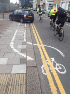 Cycle Lane Disasters for end to end website post