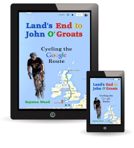 Cycling the Google Route from Lands End to John O'Groats - Image