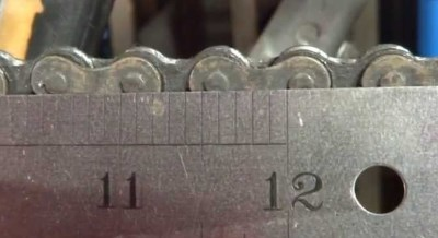 Image of Chain wear measure