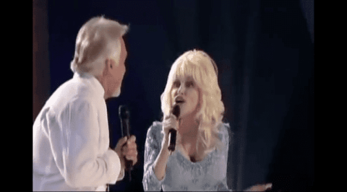 Kenny Rogers; Dolly Parton - Island In The Streaam