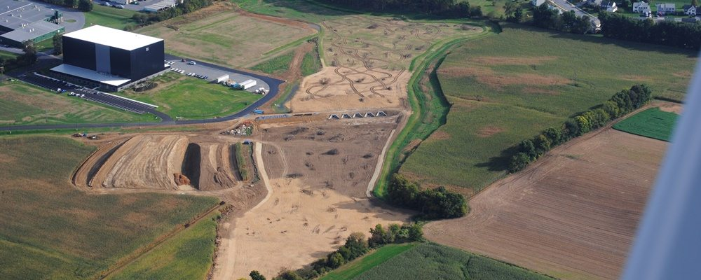 Rock Lititz - FPR - Aerial during construction James Kreider