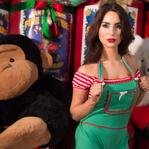 Gold Club's Naughty Santa helpers_-10