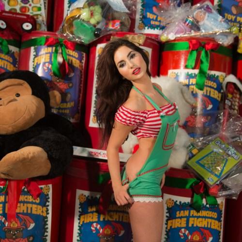Gold Club's Naughty Santa helpers_-11