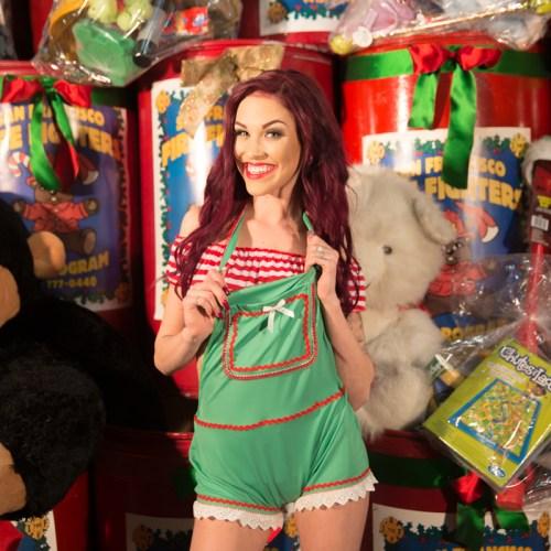 Gold Club's Naughty Santa helpers_-15