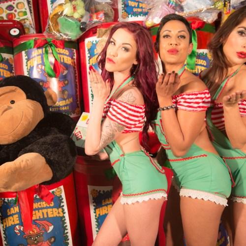 Gold Club's Naughty Santa helpers_-6