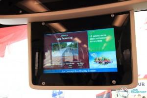 Passenger Information System display