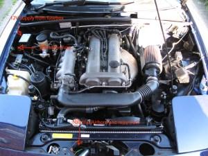Eunos  MX5  Miata horn upgrade: Sebel Nautilus air horn | Landwomble's Guide To