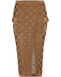 balmain-brown-woven-skirt-product-0-396347430-normal