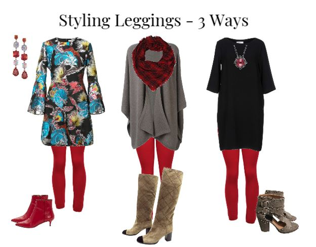 Leggings coiffants-3 façons