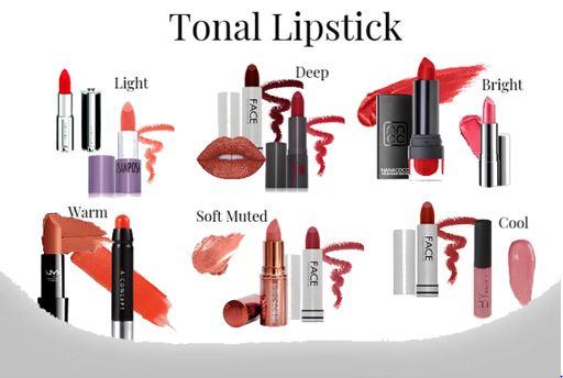 Rouge à lèvres tonale