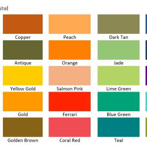 Tonal Digital Colour Analysis Drapes