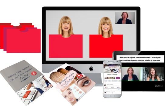 Virtual Colour Drapes Starter Pack