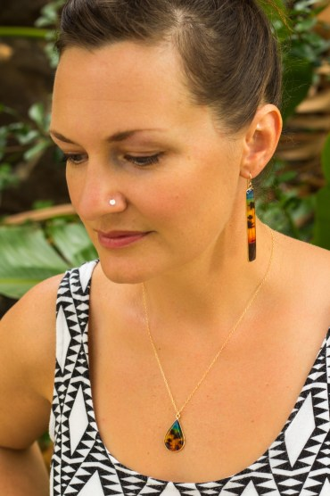 vermilli earing necklace-1