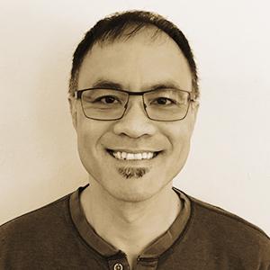 Sepia Portrait of Michael Wong