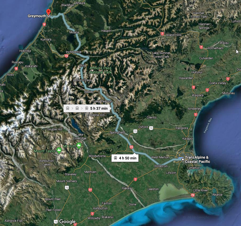 New Zealand Tranzalpine Train Langa Com
