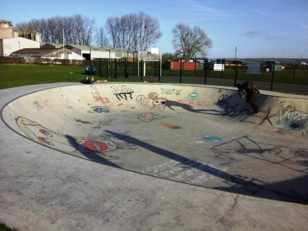 Barnstone Skate Bowl