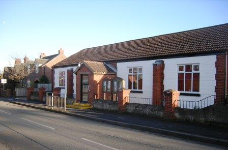 Photo of the front of the Village Hall