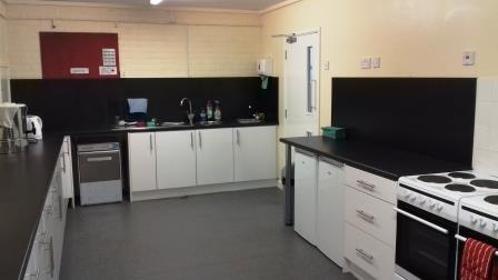 Photo of the Village hall kitchen