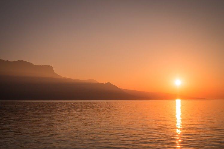 morning sunrise over lake-samuel-zeller