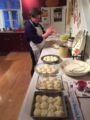 Bread Rolls Dough