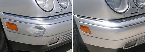 Spot Repair / Smart Repair for mindre lakkeringsskader