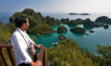 Kunjungan Presiden Joko Widodo ke Raja Ampat