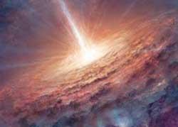 Pembentukan awal Tata Surya. Kredit Gambar : Sky & Telescope