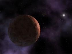 Sedna, salah satu objek di Sabuk Kuipert. Kredit : NASA