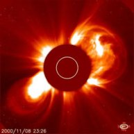 Coronal Mass Ejection / CME. kredit : NASA
