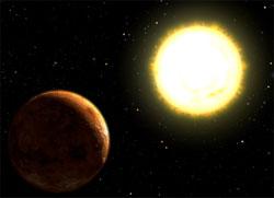 Ilustrasi exoplanet kebumian. Kredit : NASA