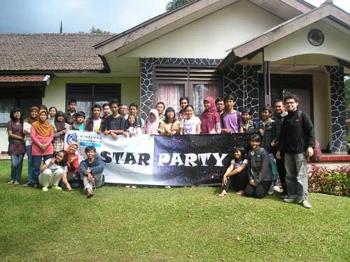 Peserta Star Party. Kredit : HAAJ