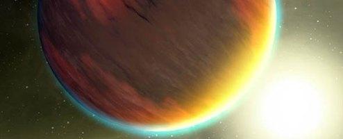 atmosfer exoplanet. kredit : NASA