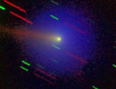 Komet WIrtanen. Kredit : Max-Planck-Institut f|r Aeronomie/ T. Credner, J. Jockers, T.Bonev