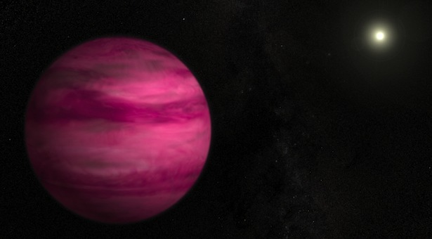 Ilustrasi exoplanet GJ 504 b. Kredit: NASA's Goddard Space Flight Center/S. Wiessinger