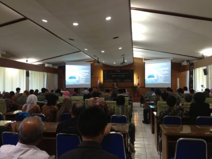 Pembukaan ISYA 2013 di LAPAN Bandung. kredit: langitselatan
