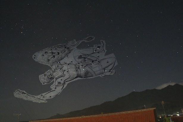 Orion sang pemburu. kredit: Nggieng