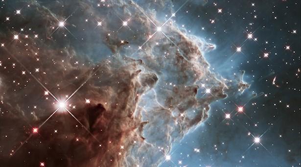 Nebula Kepala Monyet dalam cahaya inframerah. Kredit: ASA, ESA, and the Hubble Heritage Team (STScI/AURA)