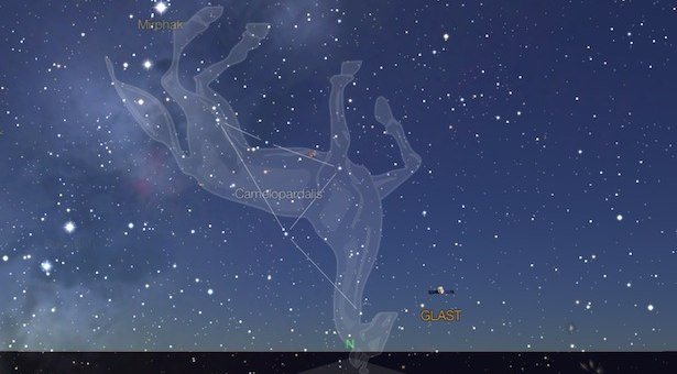 Rasi Camelopardalids. Kredit: Star Walk