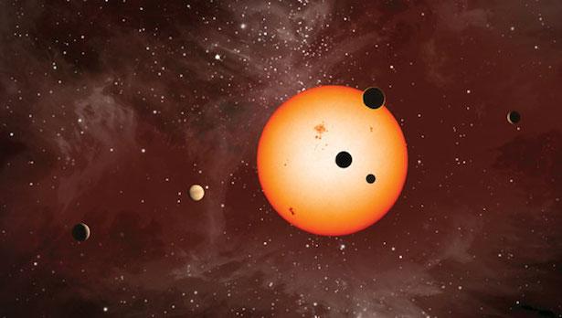 Ilustrasi exoplanet. Kredit: Nature